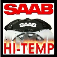 SAAB HIGH TEMPERATURE BRAKE CALIPER DECAL SET